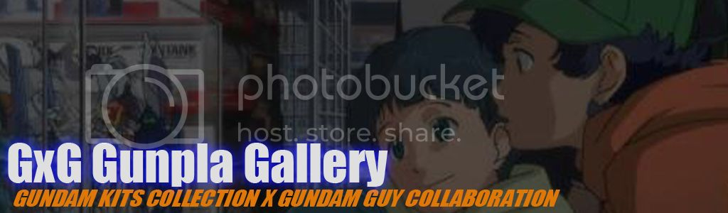 GxG GunPla Gallery